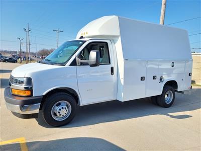 2021 Chevrolet Express 3500 4x2, Knapheide KUV Service Utility Van #ZT10240 - photo 3