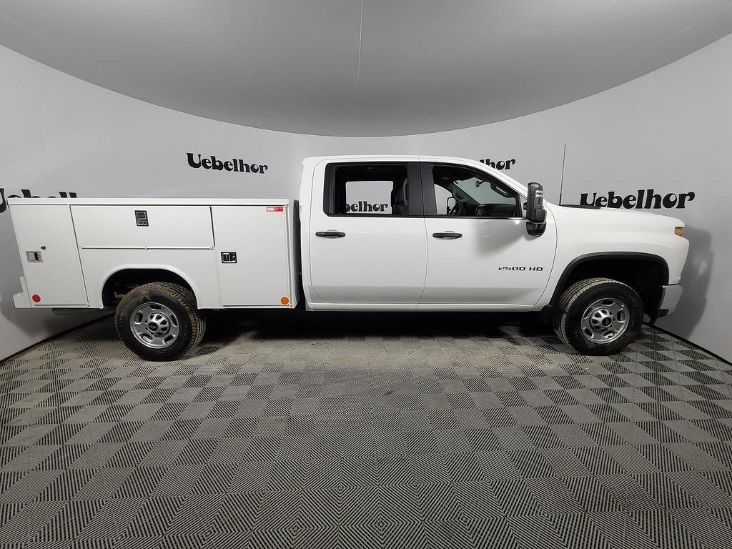 2021 Chevrolet Silverado 2500 Crew Cab 4x2, Reading SL Service Body #ZT10255 - photo 3