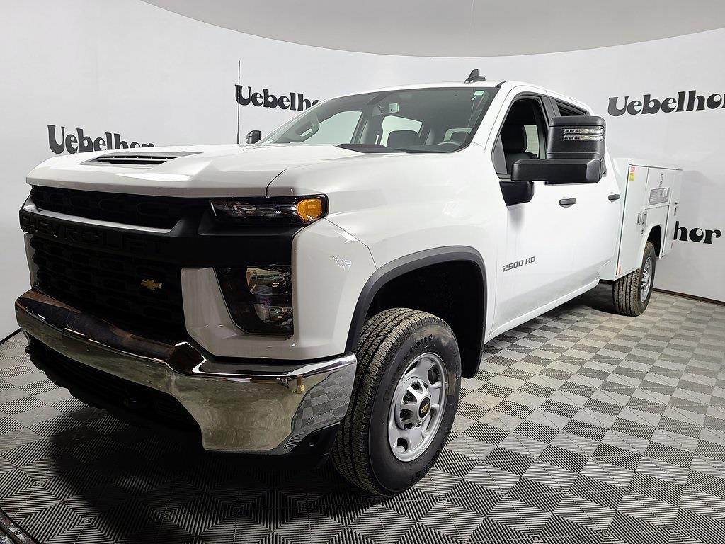 2021 Chevrolet Silverado 2500 Crew Cab 4x2, Reading SL Service Body #ZT10268 - photo 1