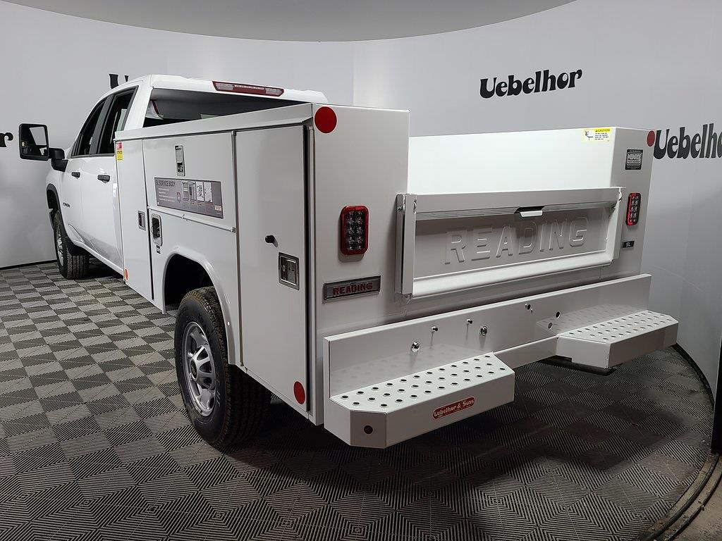 2021 Chevrolet Silverado 2500 Crew Cab 4x2, Reading SL Service Body #ZT10268 - photo 2