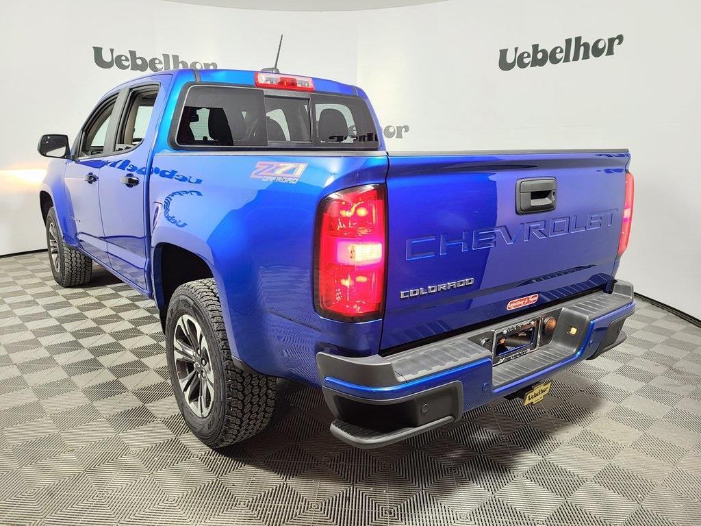 2021 Chevrolet Colorado Crew Cab 4x4, Pickup #ZT10284 - photo 2