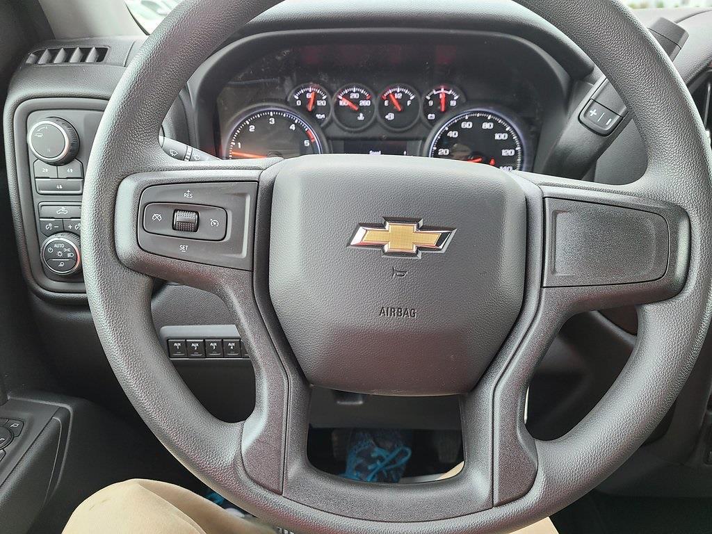 2021 Chevrolet Silverado 3500 Crew Cab 4x4, Reading Classic II Steel Service Body #ZT10358 - photo 12