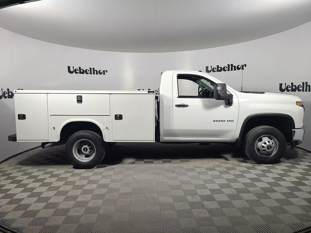 2021 Chevrolet Silverado 3500 Regular Cab 4x4, Knapheide Steel Service Body #ZT10482 - photo 3
