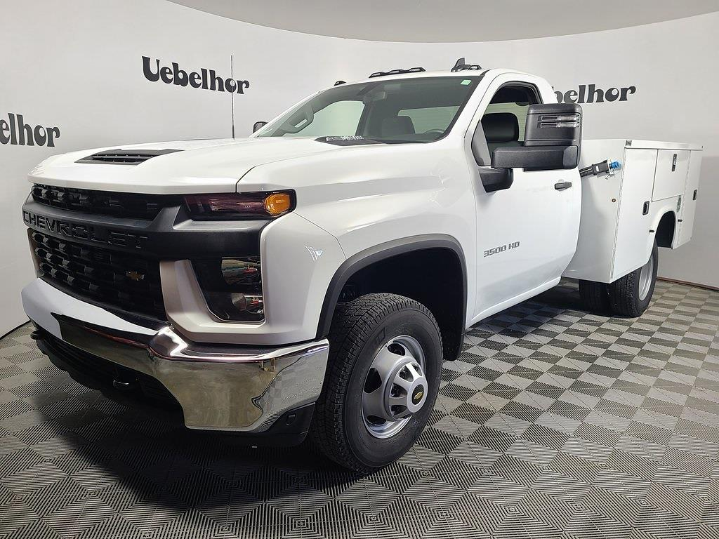 2021 Chevrolet Silverado 3500 Regular Cab 4x4, Knapheide Steel Service Body #ZT10482 - photo 1