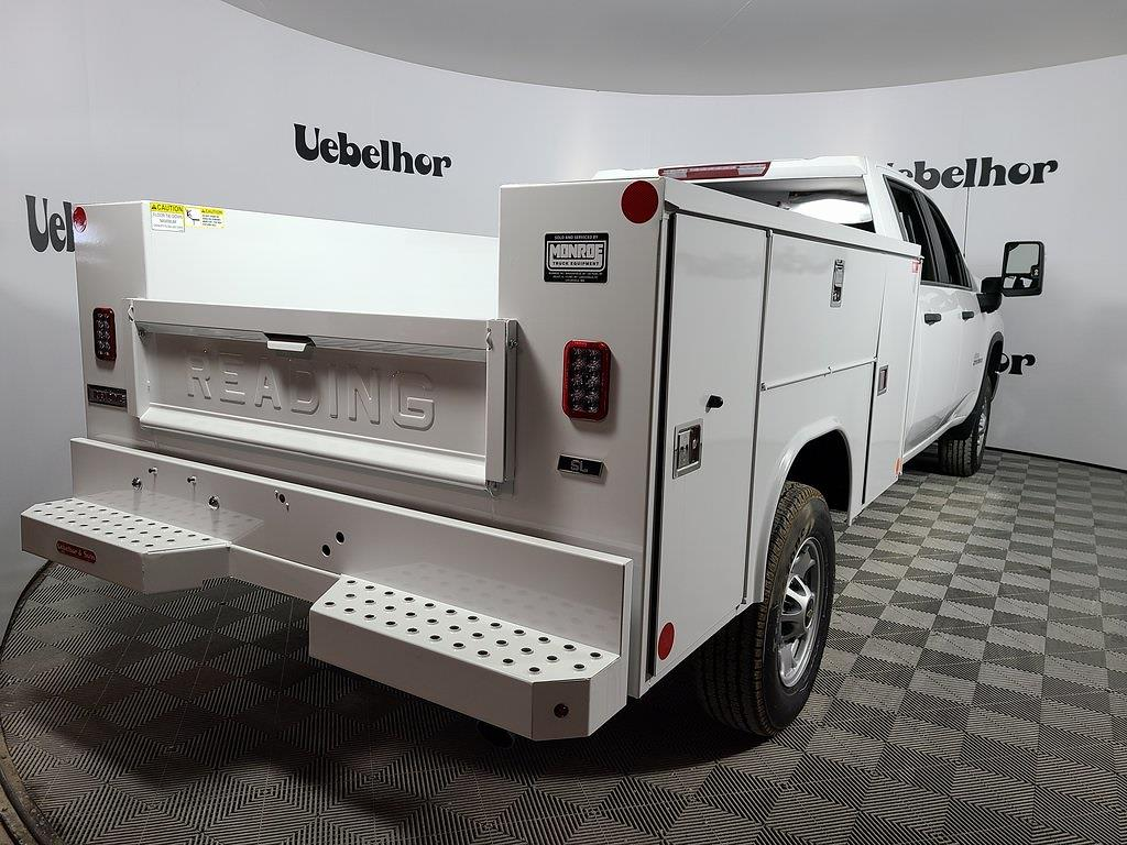 2021 Chevrolet Silverado 2500 Crew Cab 4x4, Reading SL Service Body #ZT10500 - photo 6