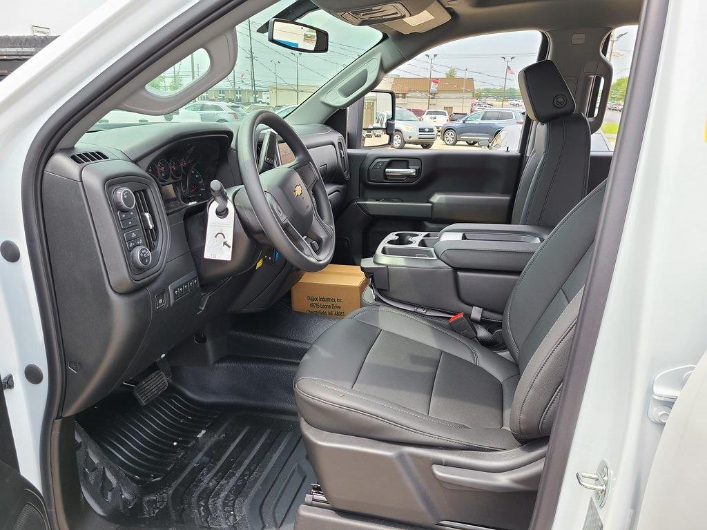 2021 Chevrolet Silverado 3500 Crew Cab 4x4, Hillsboro GII Steel Platform Body #ZT10514 - photo 10