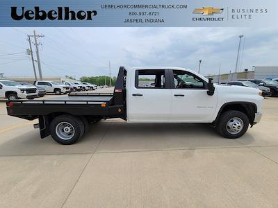 2021 Chevrolet Silverado 3500 Crew Cab 4x4, Hillsboro GII Steel Platform Body #ZT10514 - photo 1