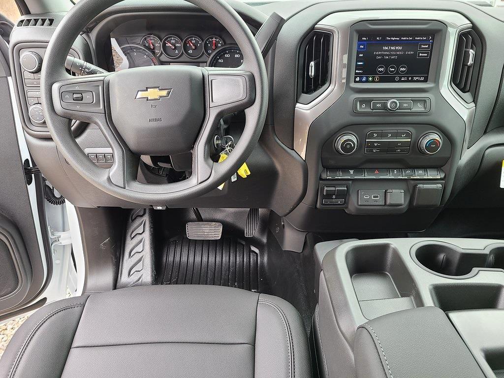 2021 Chevrolet Silverado 3500 Crew Cab 4x4, Hillsboro GII Steel Platform Body #ZT10516 - photo 10