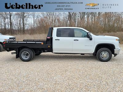 2021 Chevrolet Silverado 3500 Crew Cab 4x4, Hillsboro GII Steel Platform Body #ZT10516 - photo 1
