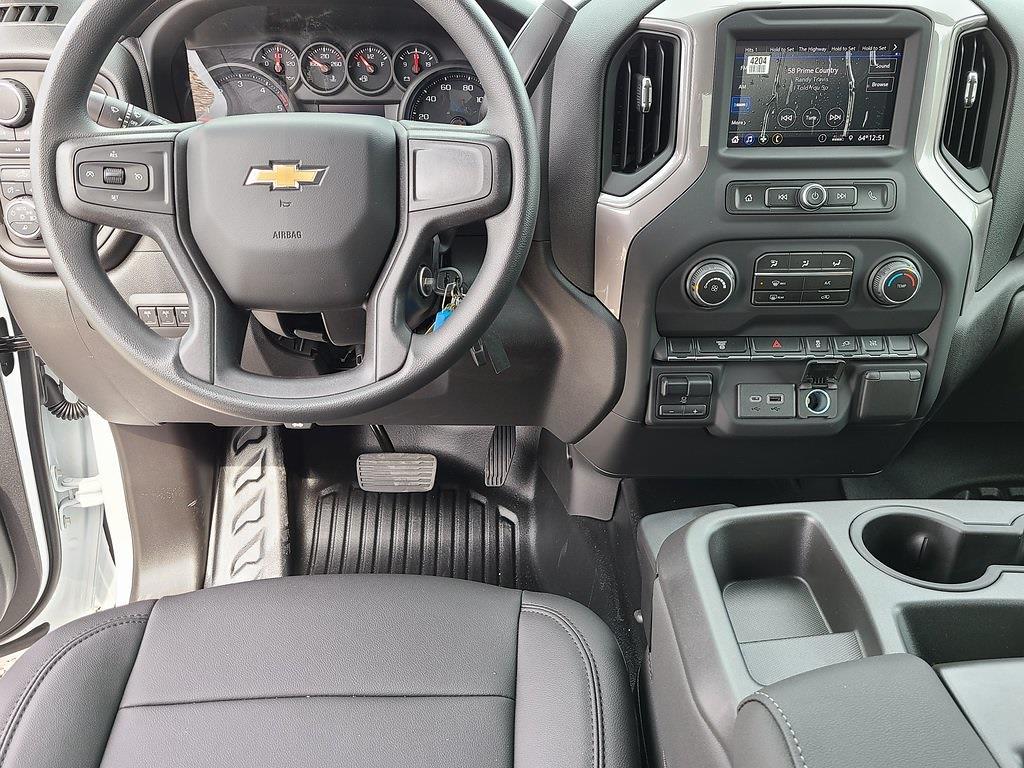2021 Chevrolet Silverado 3500 Crew Cab 4x4, Reading Classic II Steel Service Body #ZT10521 - photo 10