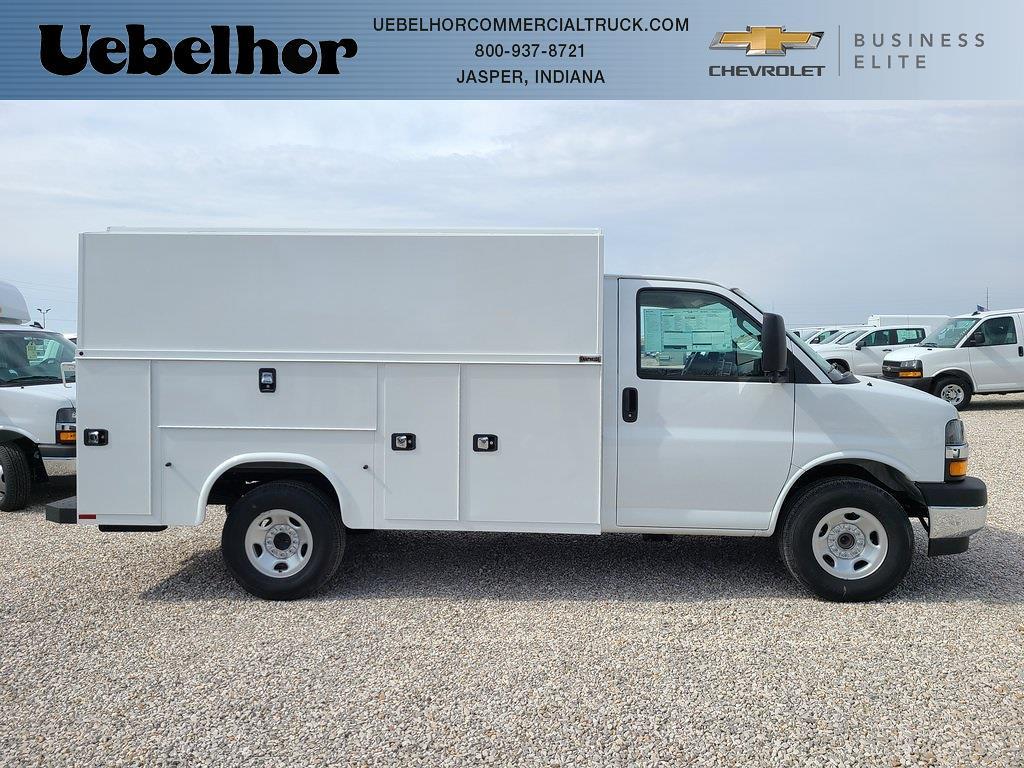 2021 Chevrolet Express 3500 4x2, Knapheide KUV Service Utility Van #ZT10536 - photo 1