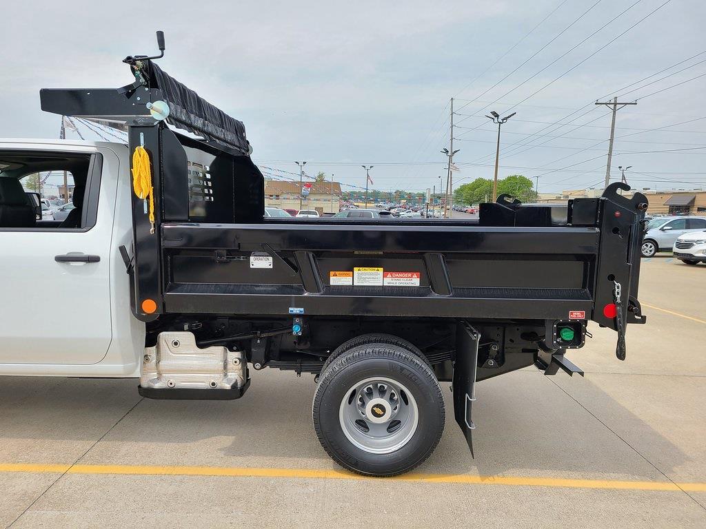 2021 Chevrolet Silverado 3500 Crew Cab 4x4, Reading Marauder Dump Body #ZT10649 - photo 5