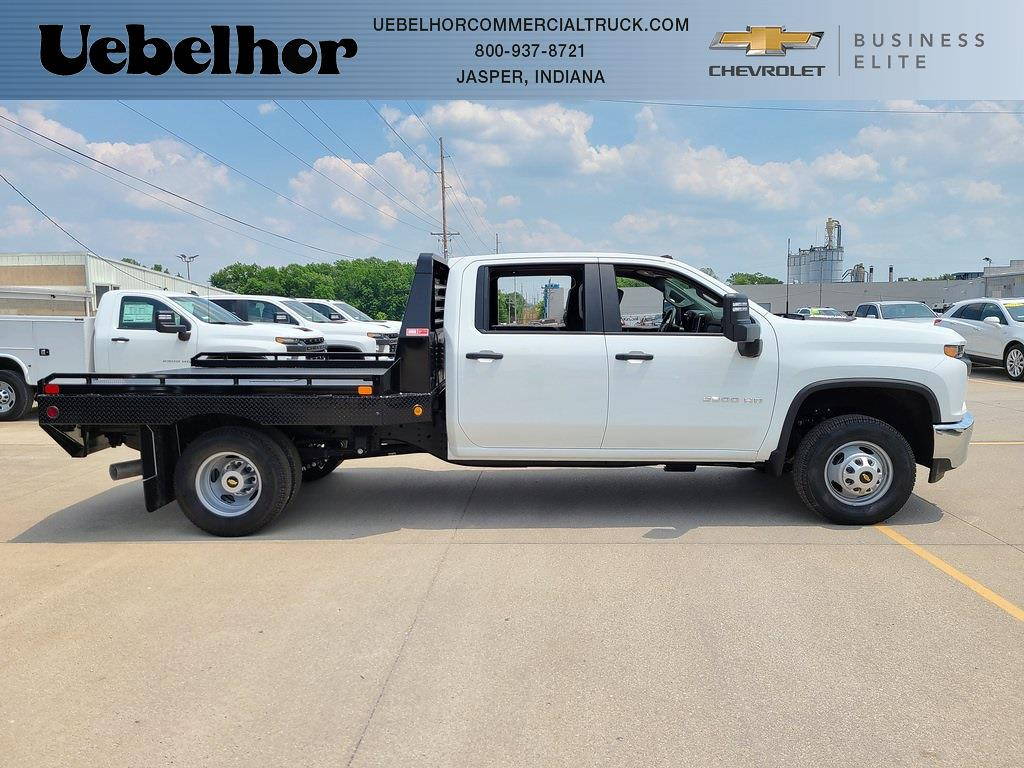 2021 Chevrolet Silverado 3500 Crew Cab 4x4, Hillsboro GII Steel Platform Body #ZT10728 - photo 1
