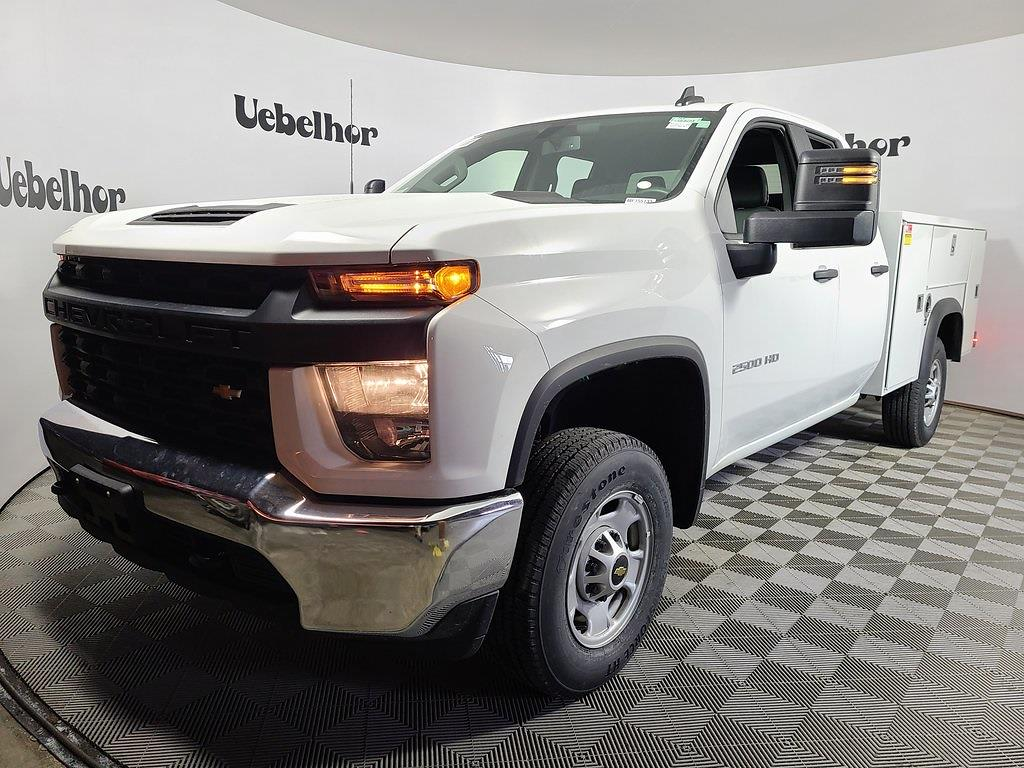2021 Chevrolet Silverado 2500 Double Cab 4x2, Monroe MSS II Service Body #ZT10756 - photo 3