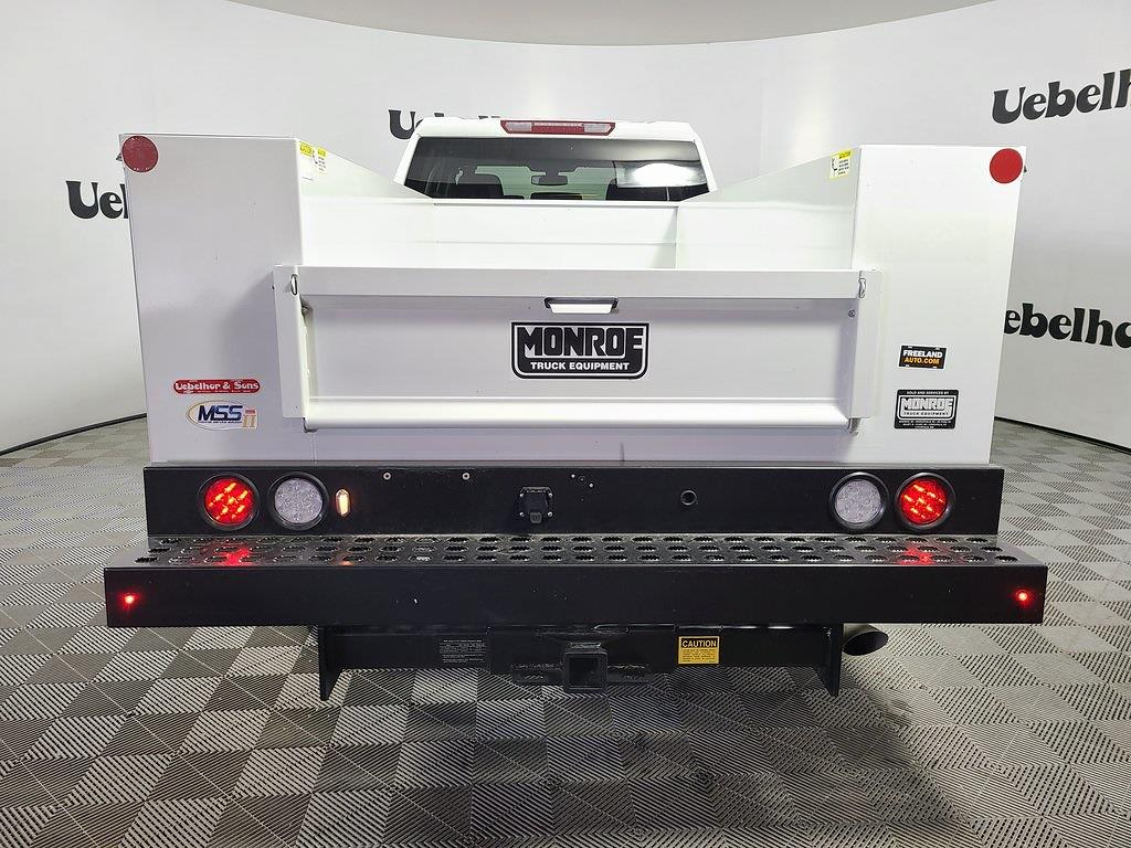 2021 Chevrolet Silverado 2500 Double Cab 4x2, Monroe MSS II Service Body #ZT10756 - photo 2