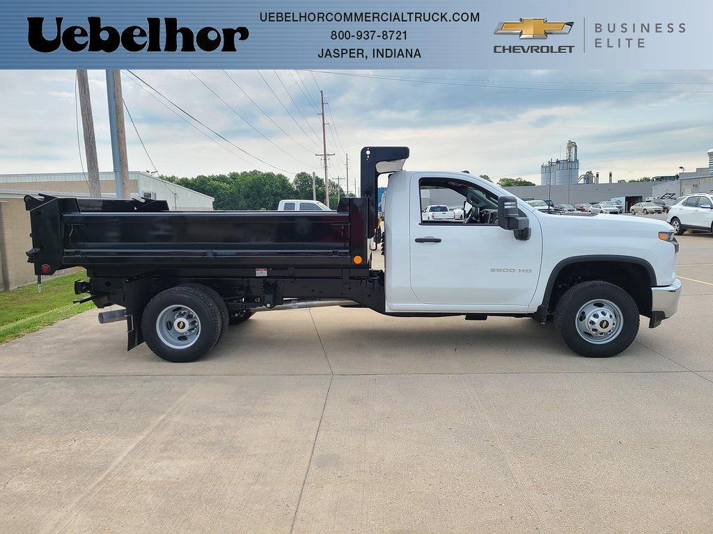 2021 Chevrolet Silverado 3500 Regular Cab 4x4, Air-Flo Dump Body #ZT10783 - photo 1