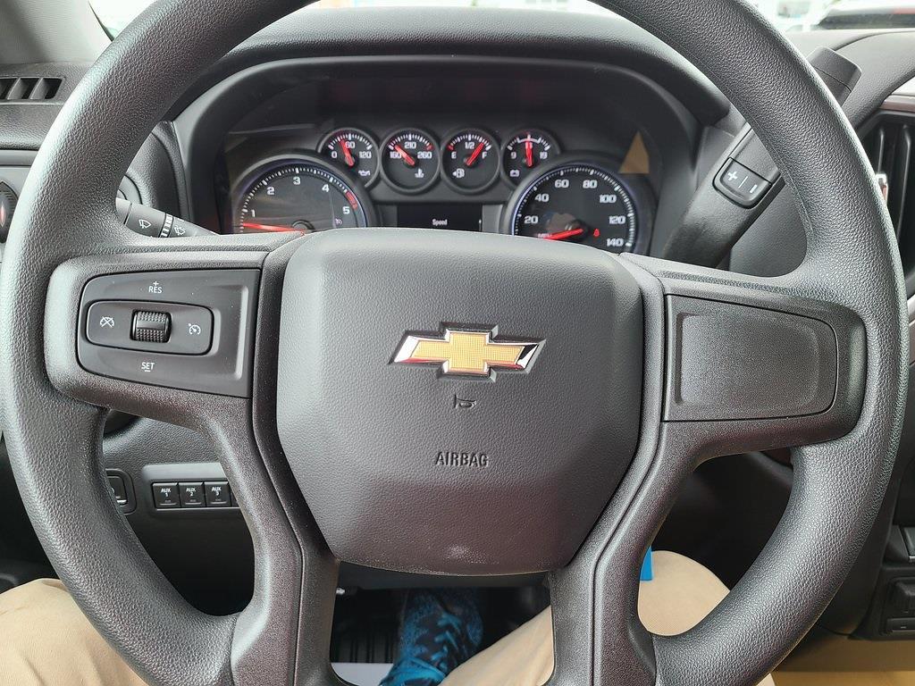 2021 Chevrolet Silverado 3500 Crew Cab 4x4, Hillsboro GII Steel Platform Body #ZT10796 - photo 12