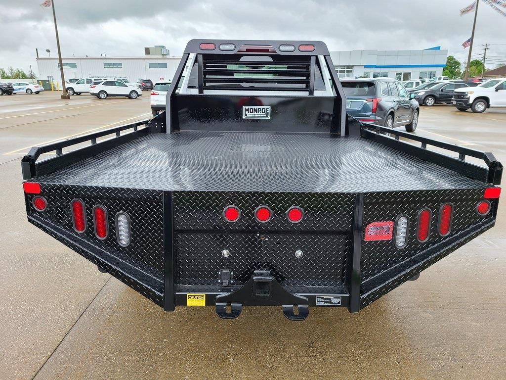 2021 Chevrolet Silverado 3500 Crew Cab 4x4, Hillsboro GII Steel Platform Body #ZT10796 - photo 2