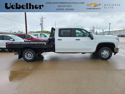 2021 Chevrolet Silverado 3500 Crew Cab 4x4, Hillsboro GII Steel Platform Body #ZT10796 - photo 1