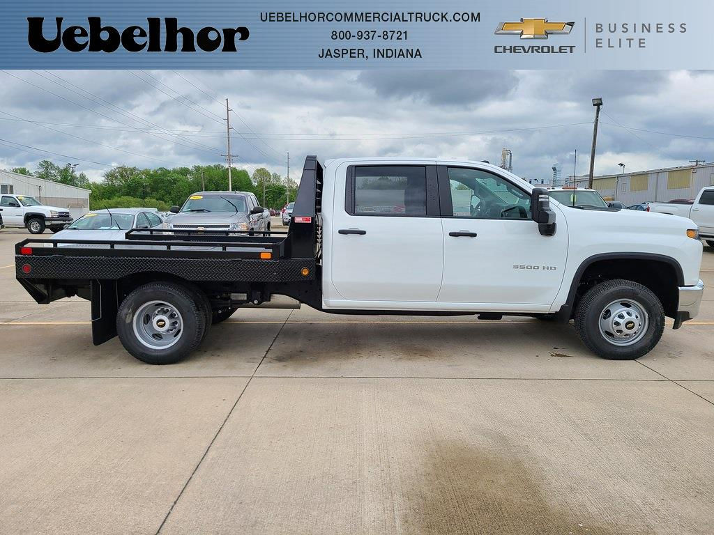 2021 Chevrolet Silverado 3500 Crew Cab 4x4, Hillsboro GII Steel Platform Body #ZT10798 - photo 1