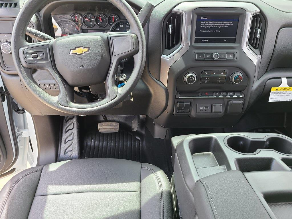 2021 Chevrolet Silverado 3500 Crew Cab 4x2, Reading Classic II Steel Service Body #ZT10952 - photo 10
