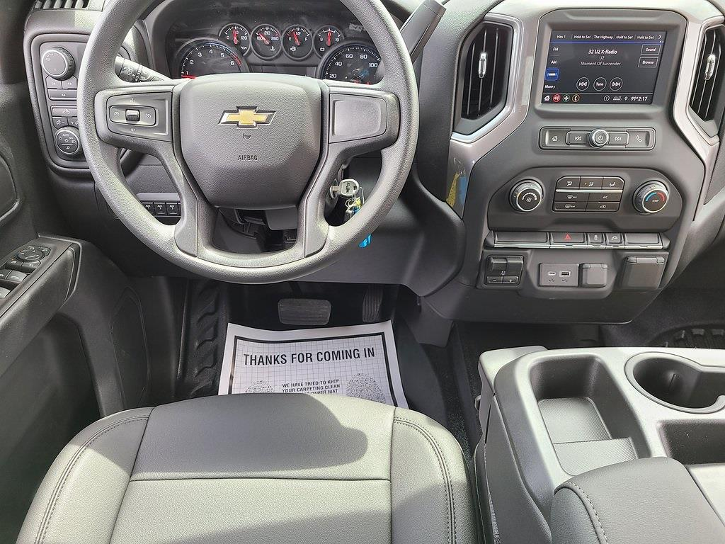 2021 Chevrolet Silverado 3500 Crew Cab 4x4, Reading Classic II Steel Service Body #ZT11149 - photo 8