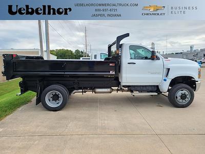 2021 Silverado 4500 Regular Cab DRW 4x4,  Monroe Truck Equipment MTE-Zee Dump Body #ZT11767 - photo 1