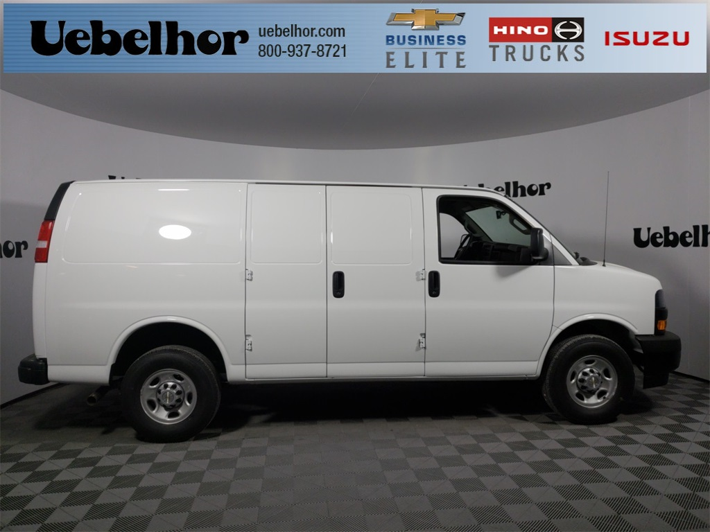 2018 Chevrolet Express 3500 4x2, Empty Cargo Van #ZT2534 - photo 1