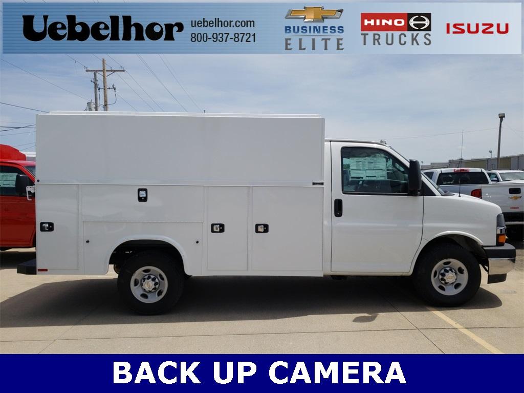 2019 Chevrolet Express 3500 4x2, Knapheide KUV Service Utility Van #ZT4773 - photo 1