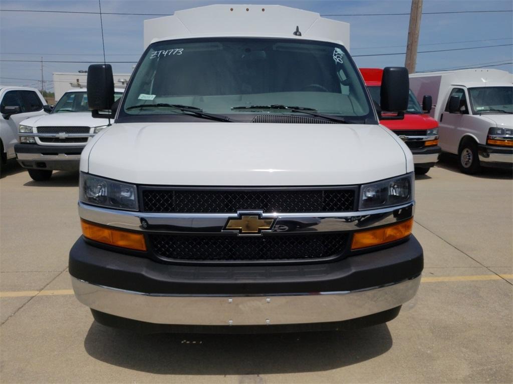 2019 Chevrolet Express 3500 4x2, Knapheide KUV Service Utility Van #ZT4773 - photo 3