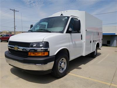 2019 Chevrolet Express 3500 4x2, Knapheide KUV Service Utility Van #ZT4773 - photo 5