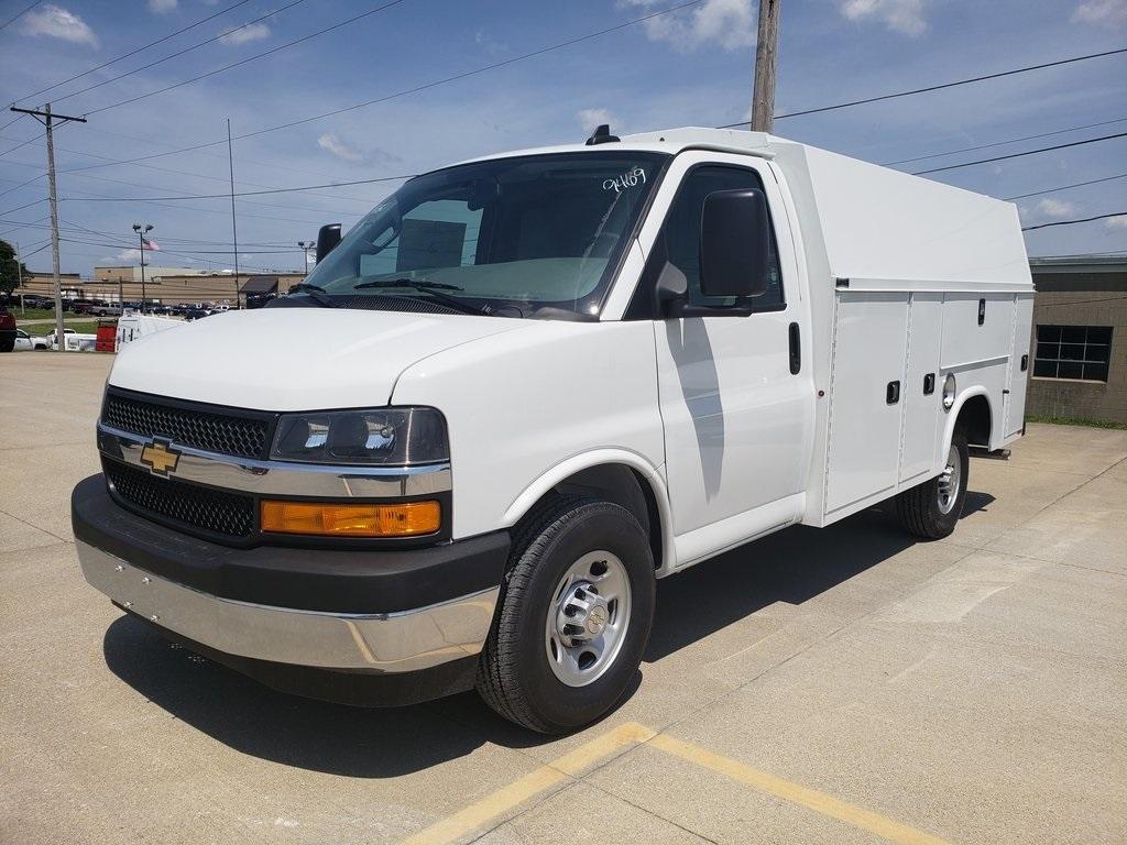 2019 Chevrolet Express 3500 4x2, Knapheide KUV Service Utility Van #ZT4780 - photo 5