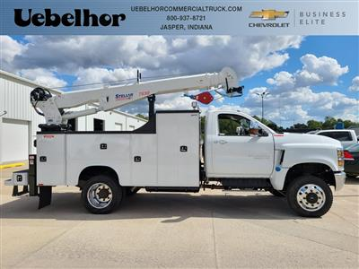2019 Chevrolet Silverado 6500 Regular Cab DRW 4x4, Knapheide Crane Body Mechanics Body #ZT6014 - photo 3