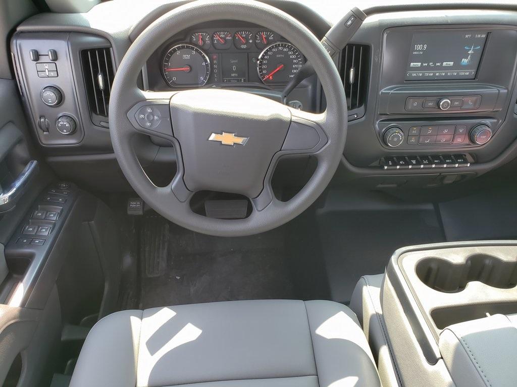 2019 Chevrolet Silverado 5500 Crew Cab DRW 4x4, Monroe MSS II Service Body #ZT6068 - photo 11