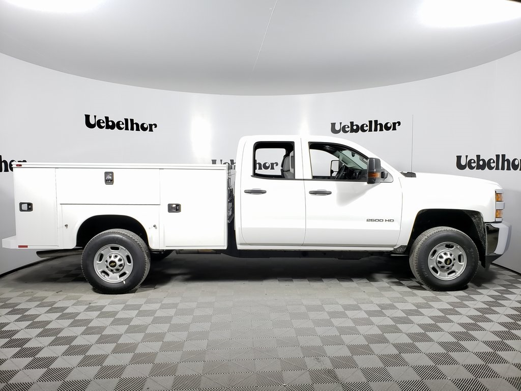 2019 Chevrolet Silverado 2500 Double Cab 4x2, Knapheide Steel Service Body #ZT6080 - photo 1