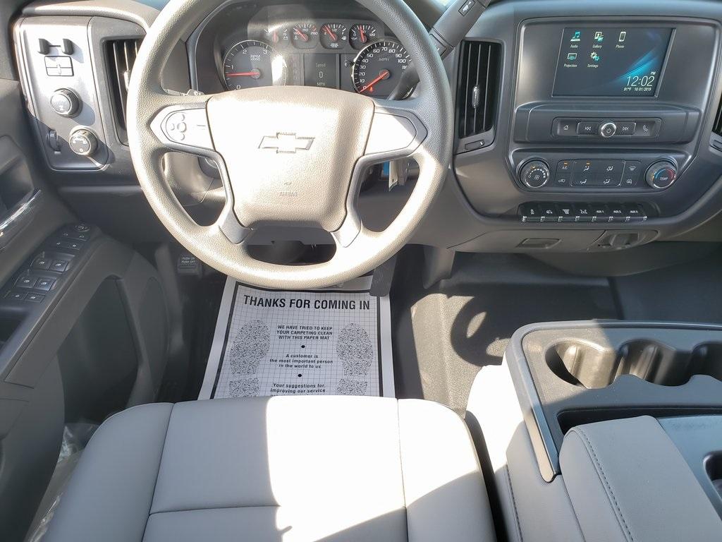 2019 Chevrolet Silverado 4500 Crew Cab DRW 4x4, Hillsboro GII Steel Platform Body #ZT6122 - photo 11