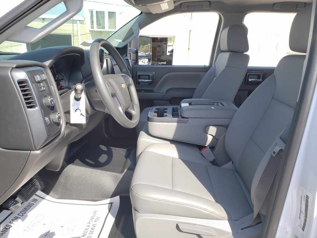 2019 Chevrolet Silverado 4500 Crew Cab DRW 4x4, Hillsboro GII Steel Platform Body #ZT6122 - photo 9