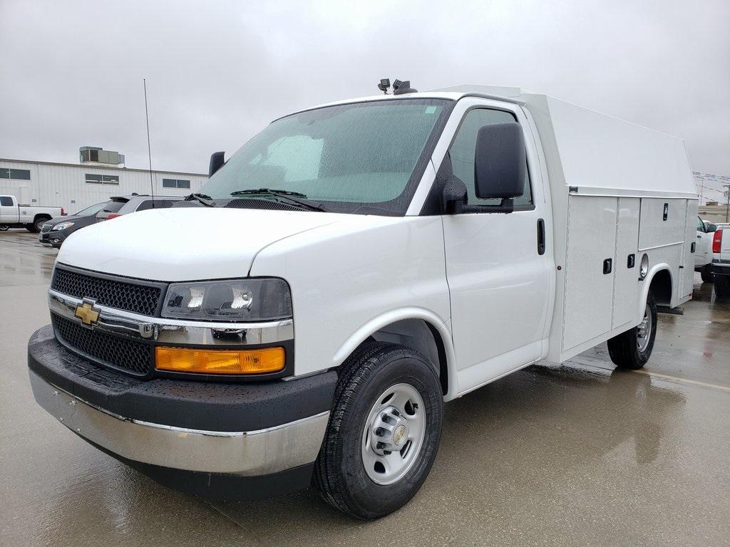 2020 Chevrolet Express 3500 4x2, Knapheide KUV Service Utility Van #ZT7283 - photo 3