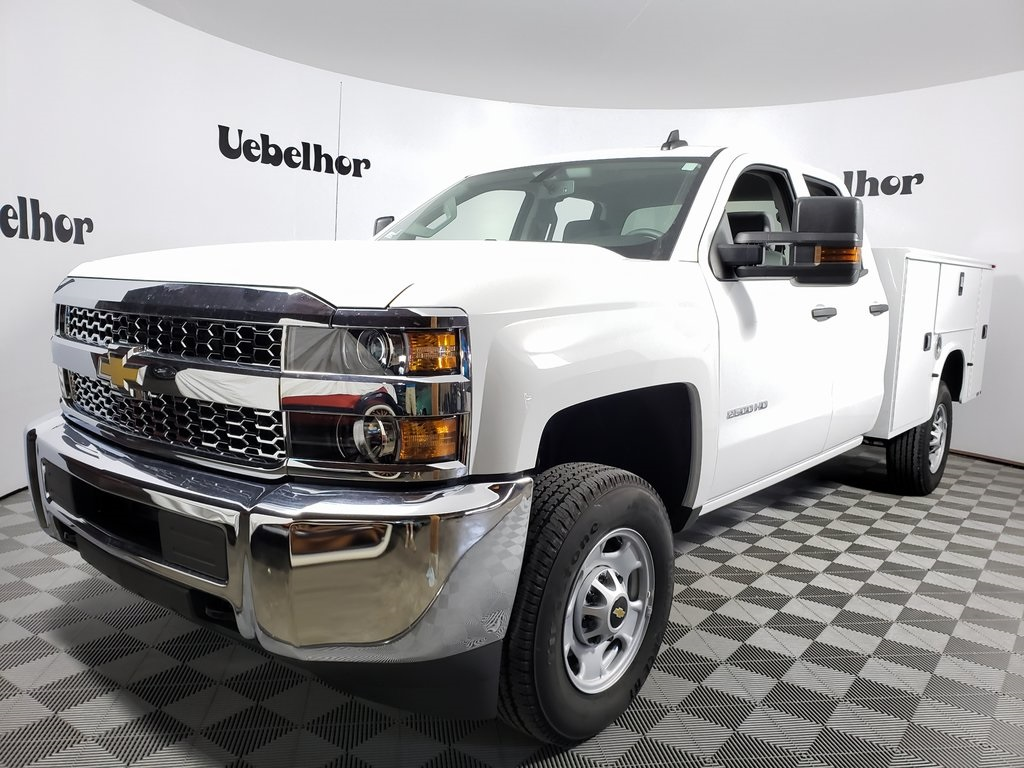 2019 Chevrolet Silverado 2500 Double Cab 4x2, Knapheide Steel Service Body #ZT7284 - photo 1