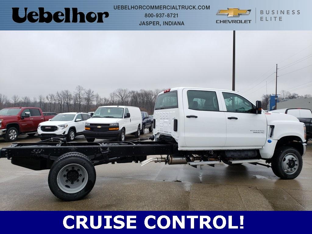 2020 Chevrolet Silverado 5500 Crew Cab DRW 4x4, Cab Chassis #ZT7356 - photo 1