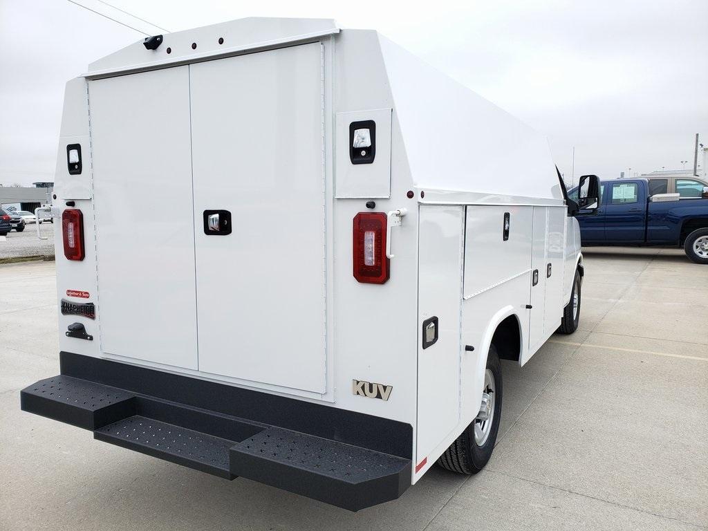 2020 Chevrolet Express 3500 4x2, Knapheide KUV Service Utility Van #ZT7674 - photo 2