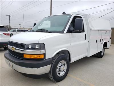 2020 Chevrolet Express 3500 4x2, Knapheide KUV Service Utility Van #ZT7674 - photo 3