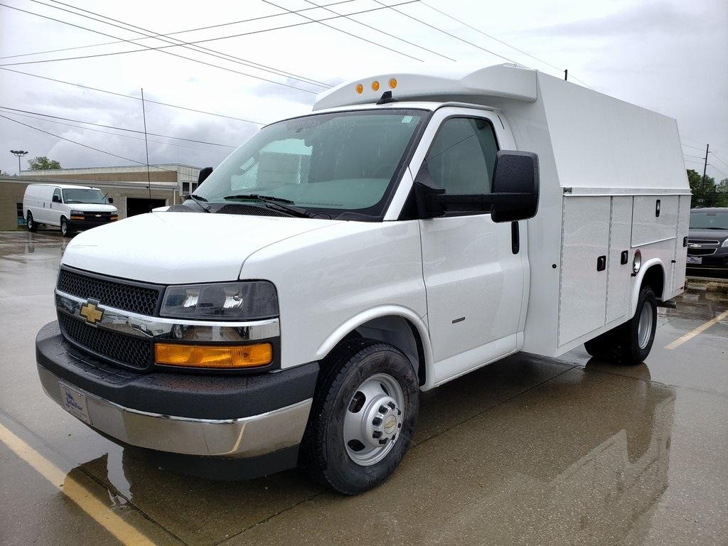 2020 Chevrolet Express 3500 4x2, Knapheide Service Utility Van #ZT7846 - photo 1