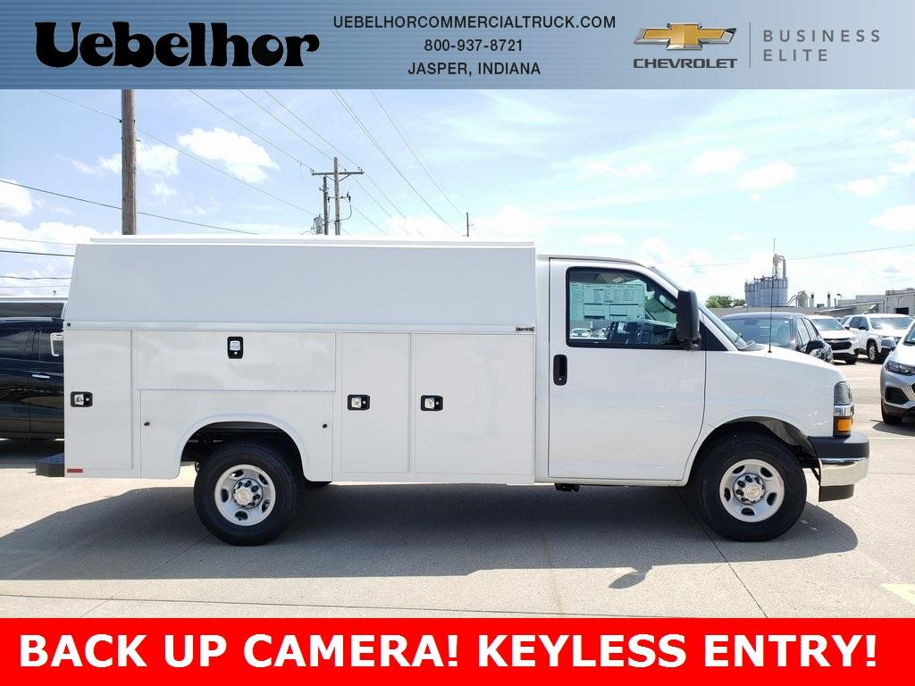 2020 Chevrolet Express 3500 4x2, Knapheide Service Utility Van #ZT7925 - photo 1
