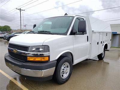 2020 Chevrolet Express 3500 4x2, Knapheide KUV Service Utility Van #ZT7927 - photo 3
