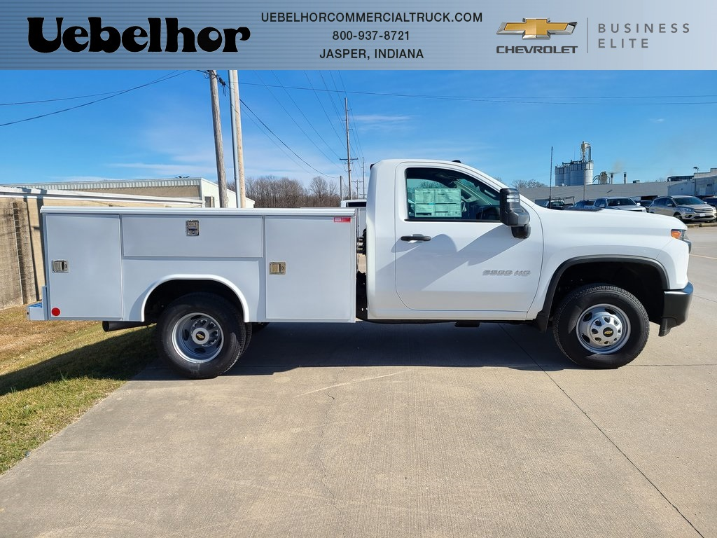 2020 Chevrolet Silverado 3500 Regular Cab DRW 4x4, CM Truck Beds Platform Body #ZT8380 - photo 3