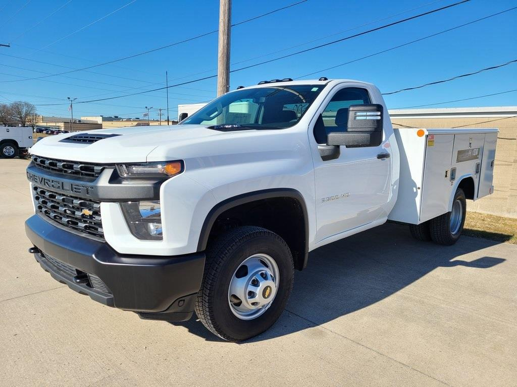 2020 Chevrolet Silverado 3500 Regular Cab DRW 4x4, CM Truck Beds Platform Body #ZT8380 - photo 1