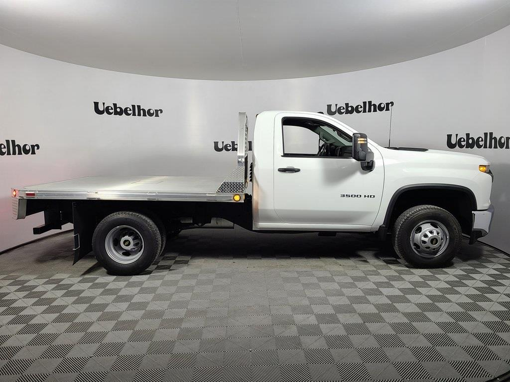 2020 Chevrolet Silverado 3500 Regular Cab DRW 4x2, Hillsboro Platform Body #ZT8452 - photo 3