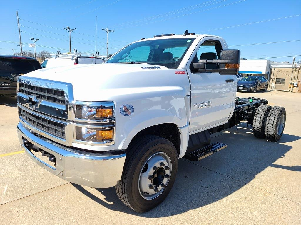 2020 Chevrolet Silverado 5500 Regular Cab DRW 4x2, Knapheide Steel Service Body #ZT8467 - photo 4