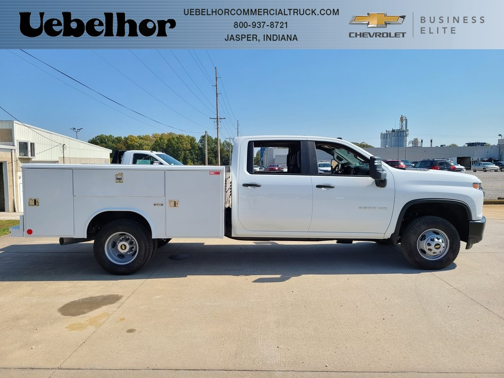 2020 Chevrolet Silverado 3500 Crew Cab DRW 4x4, Reading Service Body #ZT8550 - photo 1